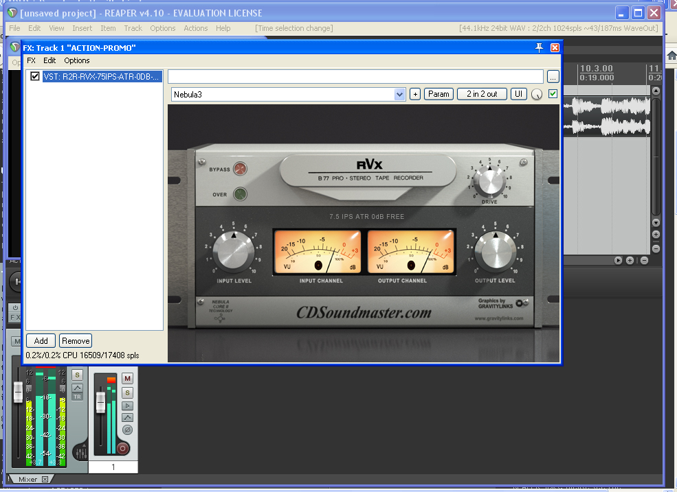 R2R & Tape Booster Plus Audio Plug-Ins From CDSoundMaster